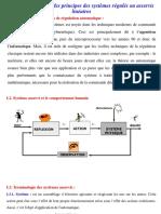 M-Energetique Asservissement Et Regulation-chapitre 1 Et 2