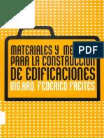 Materiales y Métodos Para La Construcción de Edificaciones-Ing-Arq-Federico Freites