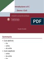 demo-cicli