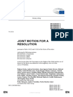 Resolution on Morocco approved by the EPP, S&D, Renew Europe and Verts / ALE majority groups RC-9-2021-0349_EN JMR