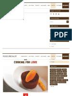 Babà al cacao e carota _ Artebianca – Blog