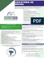 CONVOCATORIA CONGRESO UDEMEX 2021