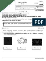 105037972-Prova-pb-Ciencias-1ano-tarde