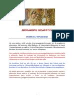 ADORAZIONE EUCARISTICA IN STREAMING