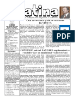 Datina - 9.06.2021 - prima pagină