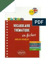vocabulary English French elementary