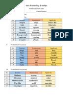 GUIA FRANCES Primero y Segundo Grado III Parcial
