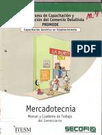 Programa de Capacitación y Modernización del Comercio Detallista PROMODE. Capacitación Genérica en Establecimiento. Mercado