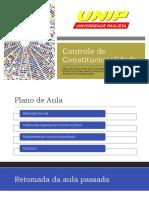 ANÁLISE EVOLUTIVA DOS SISTEMAS DE CONTROLE DE CONSTITUCIONALIDADE BRASILEIRO_ Aula 3