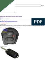 Reprogramar Alarme do Gol G3 (com Controle Remoto) _ Elétrica