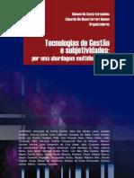 livro edufes Tecnologias de gestão e subjetividades por uma abordagem multidisciplinar