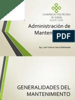 Administración de Mantenimiento