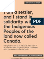 Settlers Take Action by On Canada Project