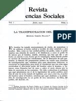 Manuel García Pelayo - La Transfiguración Del Poder