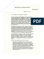 1992 P&G EEO policy change announcement