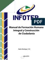 MANUAL DE FORMACION HUMANA - El Infotep