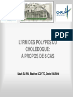IRM polype cholédoque