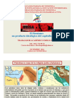 El Sionismo un producto ideol¢gico del capitalismo europeo