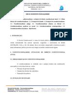 RESUMO 1º ESTÁGIO - NEOCONSTITUCIONALISMO