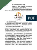 5. La acción del Catequista.