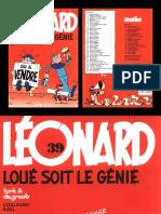 Léonard - T39 - loué soit le génie