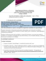 Guia de actividades y Rúbrica de evaluación - Unidad 2 - Caso 2 - Ética profesional puesta en cuestión
