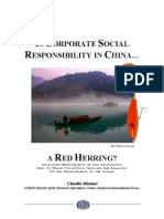 CSR in China