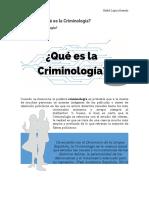 Lecciones criminología usac