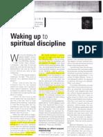 Walking up to spiritual disciplines - Ministry julyaugust2010
