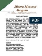 Carta Notarial Financiera Oh