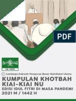 Kumpulan Khutbah Idul Fitri 2021 M (Spesial Pandemi)