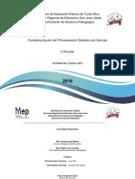 Propuesta  Ciencias II Ciclo