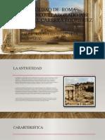 ANTIGÜEDAD DE  ROMA