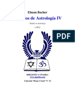 Bacher Elman - Estudios de Astrologia 4