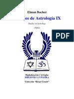 Bacher Elman - Estudios de Astrologia 9