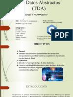 Grupo4-Tipos de datos abstractos (TDA)