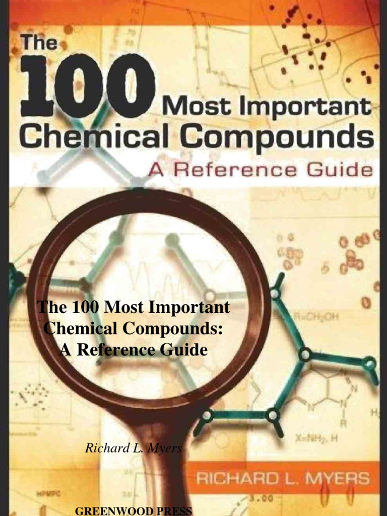 100 Most Important Chemical Compounds A Reference Guide