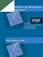 fundamentos de anestesia