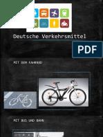 Deutsche Verkehrsmittel