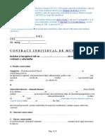 01. Contract Individual de Munca - model cadru oficial