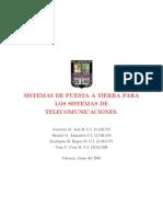 sistemas de puesta a tierra para los sistemas de telecomunicaciones