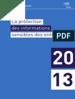 Guide La Protection Des Informations Sensibles Des Entreprises