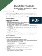 Manual  de presentacion de tesis Abril 2009