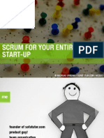 Scrum for your entire Start-Up