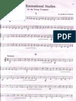 Fifty studies trumpet Hering