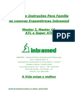 Manual Esteira Inbramed Master I