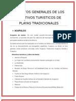 ASPECTOS GENERALES EN TURISMO