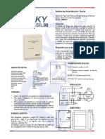 IM5Ei-C - Módulo de Supervisão Endereçável para Detector de Barreira Linear e Gás Convencional BSKY BRASIL