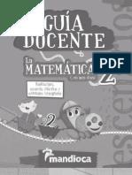 La Matemática en mis días 2- Guía Docente
