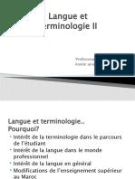 1004uj8 Langue+Et+Terminologie2+ +Étudiants